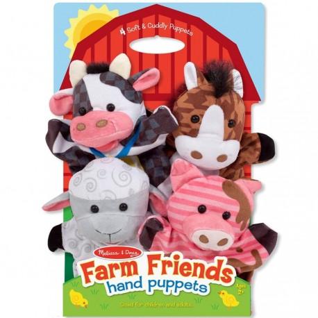 Marionnettes à main Animaux de la ferme