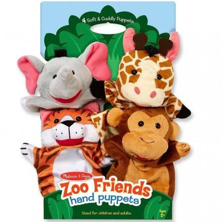 Marionnettes à main Animaux safari