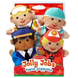 Marionnettes à main Les secouristes set de 4