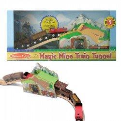 Tunnel Magique train de la mine
