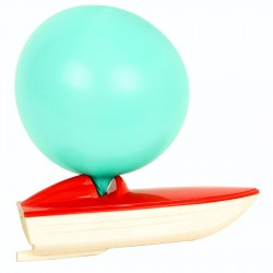 Bateau ballon jeux