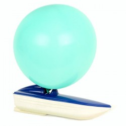 Bateau propulsion ballon jouet en plastique sans piles