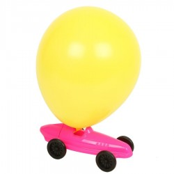jouet voiture ballon Rose