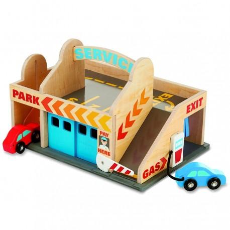 jouet garage voiture station service pour enfants partir. Black Bedroom Furniture Sets. Home Design Ideas