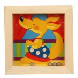 Casse tête en bois pour enfants Kangourou