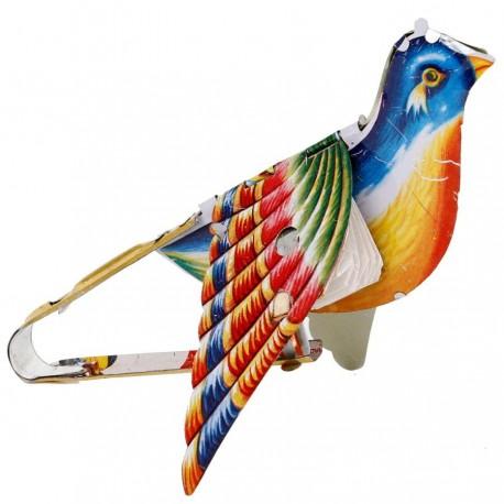 Jouet oiseau qui chante en tole