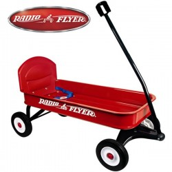 Grand Chariot a tirer Radio Flyer