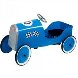 Voiture à pedales Bleue