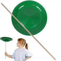 Assiette chinoise débutant Verte Jeu de jonglage Enfants