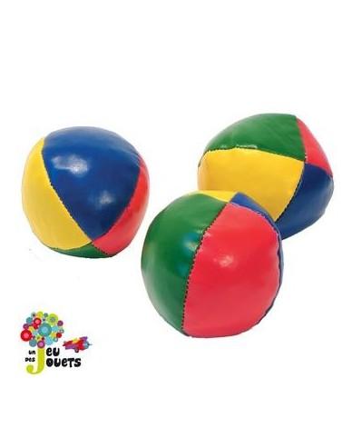 3 balles de jonglage en Lycra Jeu de jonglerie 6 cm