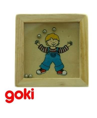 Jeu de patience jeu de billes Casse-tête en bois Enfant 5 ans +