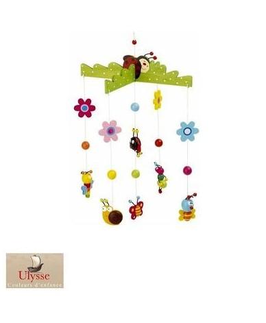 Mobile Printemps Ulysse décoration chambre enfant