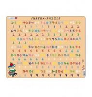 Puzzle Apprendre les Soustractions 81 pièces Larsen Mathématique 6 ans +