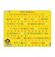 Puzzle Apprendre les Divisions 81 pièces Larsen Mathématique 8 ans +