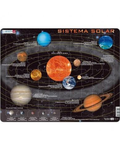 Puzzle éducatif Apprendre le system solaire en CATALAN 70 pièces Larsen