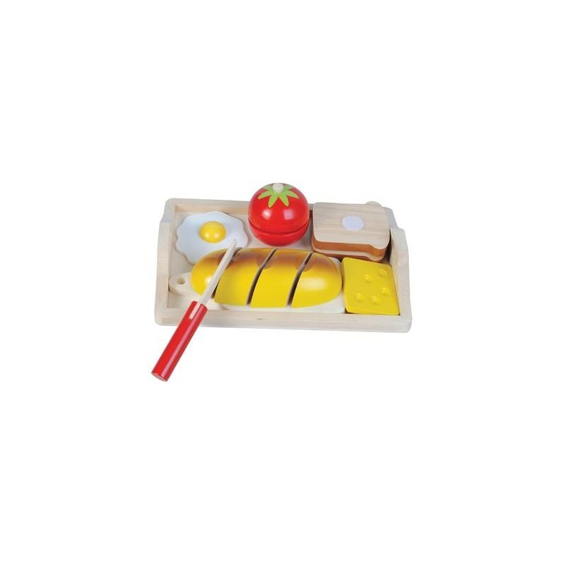 Jouet en bois fruits à découper Jeu de dinette Enfant 3 ans + - Un jeux des jouets