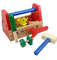 Jouet Caisse à outils en bois pour enfant 3 ans +