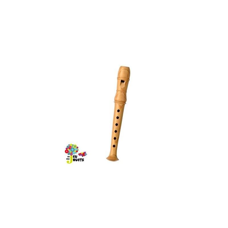 fl te en bois instrument de musique pour enfant jouet musical un jeux des jouets. Black Bedroom Furniture Sets. Home Design Ideas
