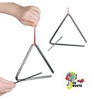 Triangle instrument de musique Jouet musical Enfant