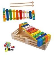 Xylophone en bois Instrument de musique pour enfant 2 ans +