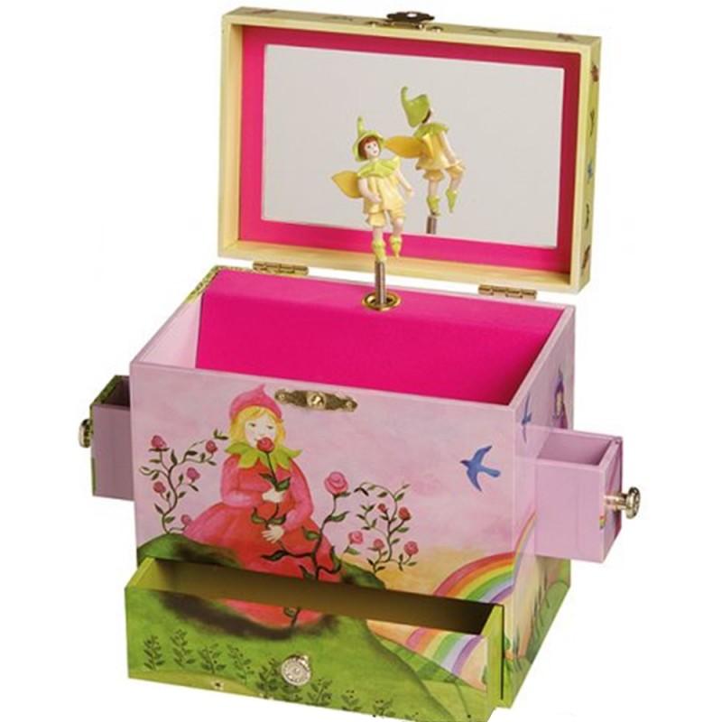 boite bijoux musicale pour enfants le printemps de vivaldi. Black Bedroom Furniture Sets. Home Design Ideas