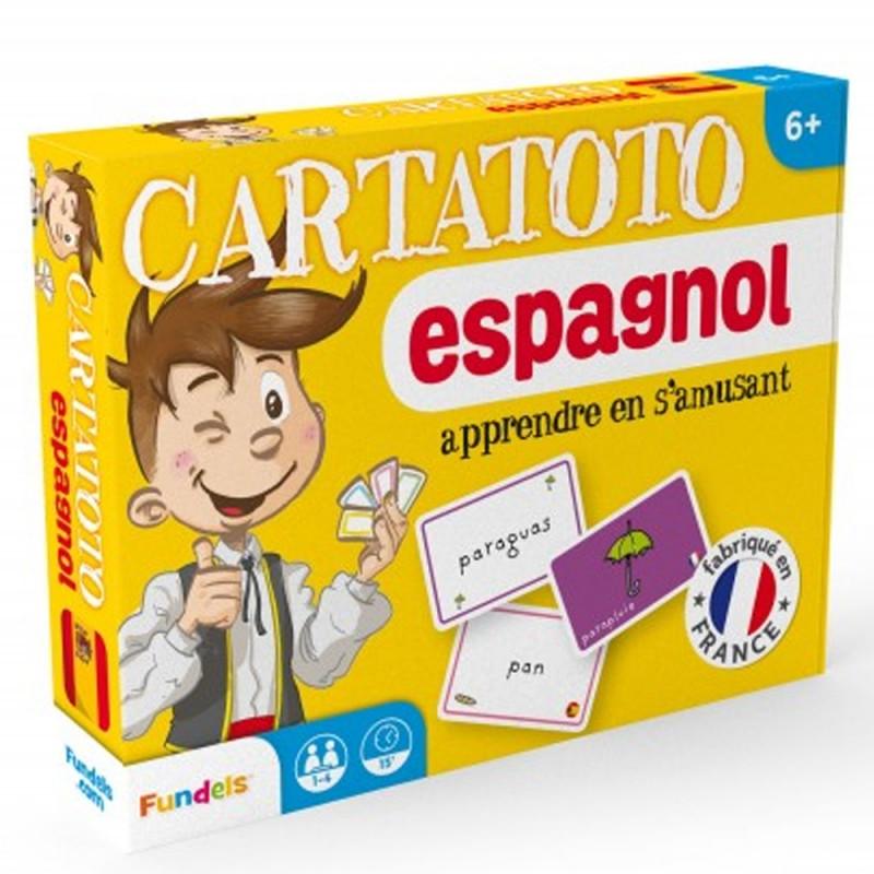 Carte Espagnole Jeu.Jeu De Cartes Cartatoto Apprendre L Espagnol En S Amusant