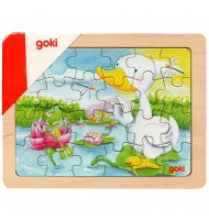 Puzzle en bois Canard 24 pièces  goki