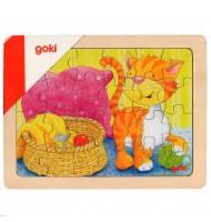 Petit Puzzle des animaux  24 pièces goki