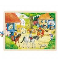 Puzzle en bois 96 pièces