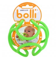 Balle d'éveil Verte Bolli pour bébé et enfants