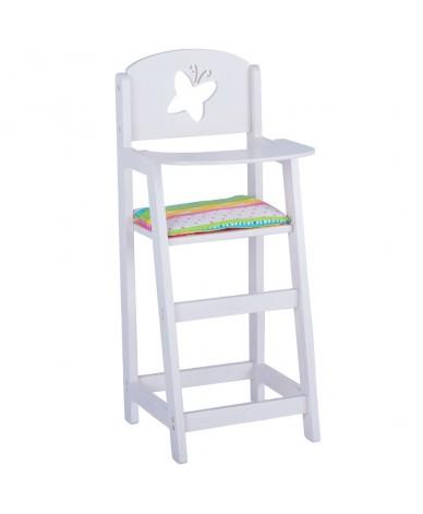 Petite chaise en bois pour poupées