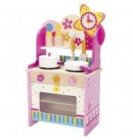 Petite cuisine en bois pour enfant avec accessoires