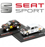Lot de 2 voitures miniatures Collection Seat Sport