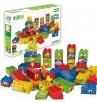 BIOBUDDI jeu de construction 100% végétal Pack 40 pièces