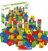 BIOBUDDI jeu de construction 100% végétal Pack 60 pièces