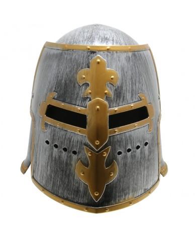 Casque de chevalier Enfant - Heaume médiéval à visière