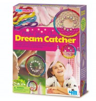 Kit fabrication attrape rêve Coffret loisir créatif 5 ans