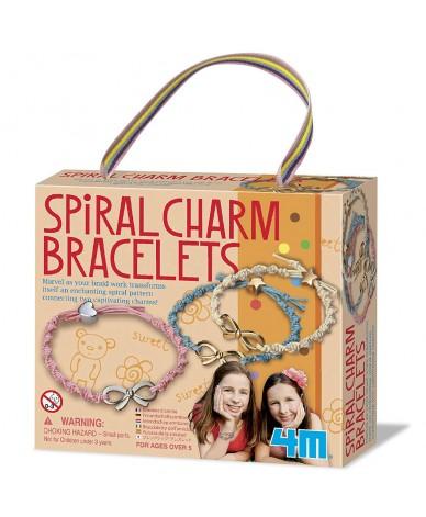 Faire des bracelets à breloques en spirale Kit de fabrication