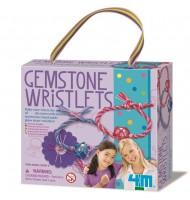 Faire des bracelets de pierres précieuses Kit de fabrication