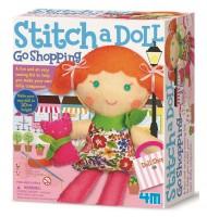 Kit de couture enfant pour fabriquer une poupée kitty