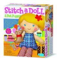 Kit de couture enfant pour fabriquer une poupée Puppy