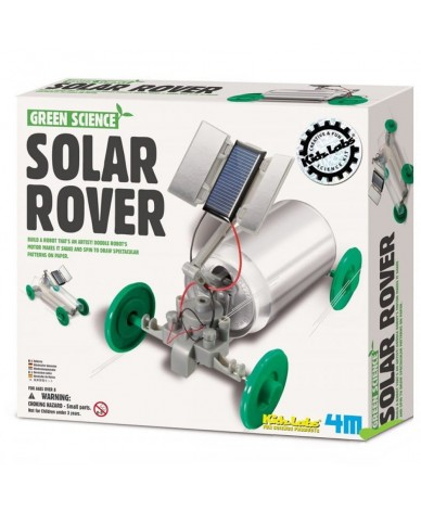 Kit fabrication Voiture solaire Green Science