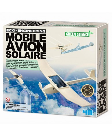 Kit fabrication Mobile planeur solaire Green Science