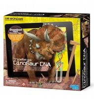 kit ADN Dinosaure Réalité Augmentée Fait renaître un Tricératops