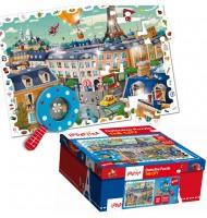 Puzzle Paris Puzzle détective Ludattica 5 +