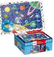 Puzzle L'espace Puzzle détective Ludattica 5 +