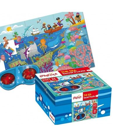 Puzzle La mer Puzzle à images cachées Ludattica 3 +