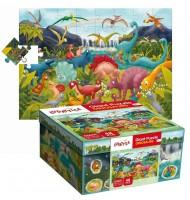 Puzzle Les Dinosaures Puzzle géant Ludattica 3 +