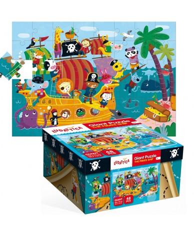 Puzzle Les Pirates Puzzle géant Ludattica 3 +