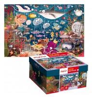 Puzzle L'Océan Puzzle géant Ludattica 3 +